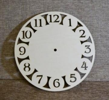 Заготовка для часов Арабские круги 25см