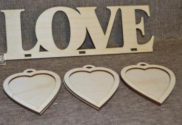 """Рамка для фото """"Love"""" (35х26см)"""