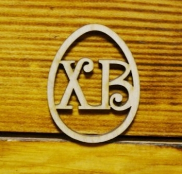 "Заготовка ""ХВ в яйце"" 6х4.7см (2шт.)"