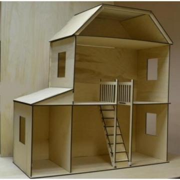 Кукольный дом 1.0х1.0х0.4м