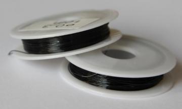 Проволока 0.25 мм DG-025 черная (10метров)
