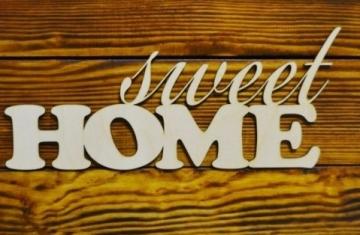 """Слово """"Sweet home"""" (длина 30см)"""