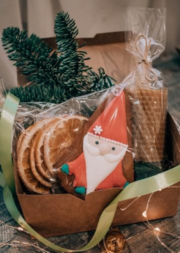 """Подарочный набор в коробке """"Дед мороз"""""""