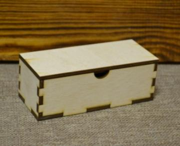Шкатулка 12х5х4см (фанера 4мм)