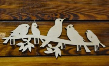 """Ключница """"Птички на ветке"""" 30х11.7см"""