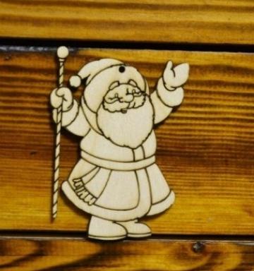 """Заготовка """"Дед мороз"""" 10см"""