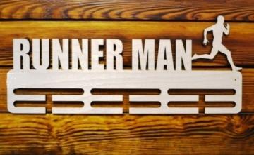 "Медальница спортивная бег ""Runner man"" 50см"