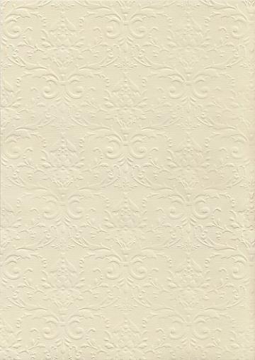 """Бумага с тиснением А4 """"Дамаск премиум"""" Bianco (1лист)"""