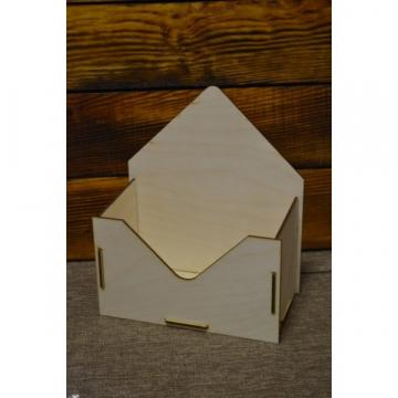 Короб «Конверт», 23,5х20х11см (карман 20х12х11см)