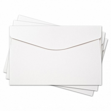 """Заготовка для конверта 11х17см """"Скорлупа"""" белый"""