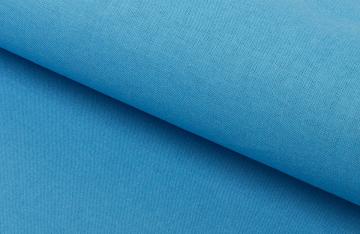 Ткань 50х50 см 100% хлопок бязь с65шв ярко-голубая