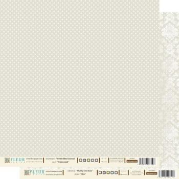 """Бумага двусторонняя """"Шебби шик. Мягкий оливковый"""" 30х30см (2 листа)"""