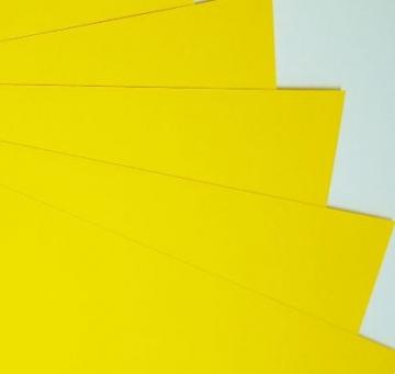 Бумага Burano пастель А4 250г/м2 Ярко-желтый (2листа)