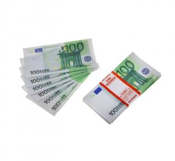"""Пачка купюр """"100 Евро"""""""