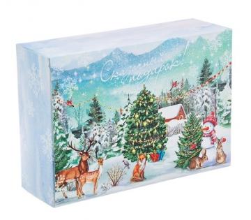 """Коробка """"Сказочный подарок"""" 16х23х7.5см"""
