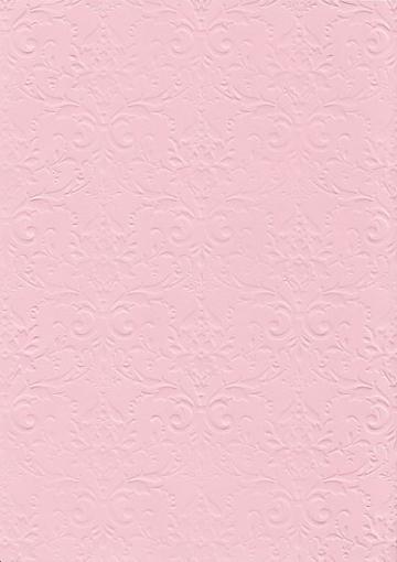"""Бумага с тиснением А4 """"Дамасский узор"""" розовый (1лист)"""