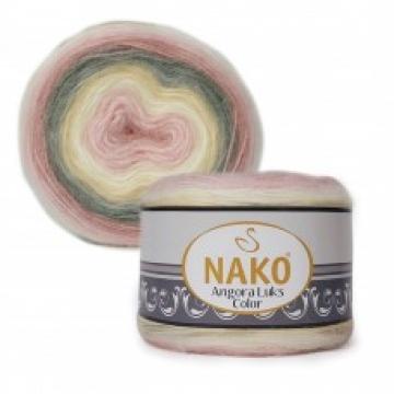 Пряжа Nako Angora luks color (150г.) 81904