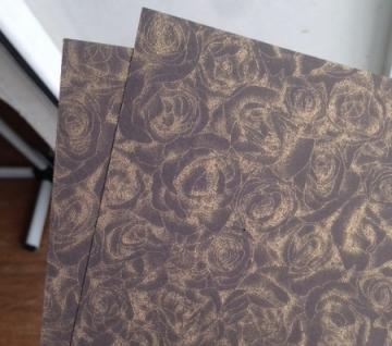 Бумага Royal Rose А4 300г/м2 Темно-коричневый (2листа)