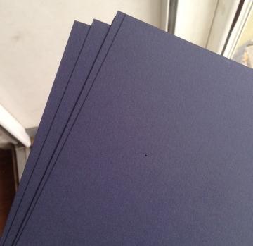 Бумага Keaykolour А4 250г/м2 Темно-синий (10 листов)
