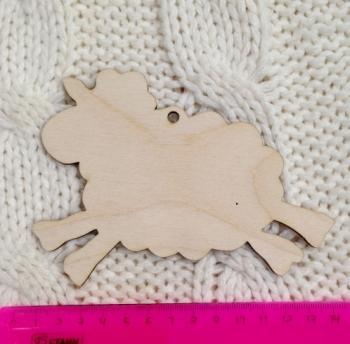 Декоративный элемент Бегущая овечка