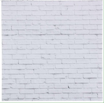 "Фотофон ""Кирпич белый"" 45х45х1.8см (картон)"