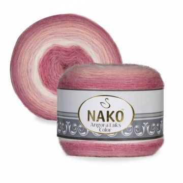 Пряжа Nako Angora luks color (150г.) 82365