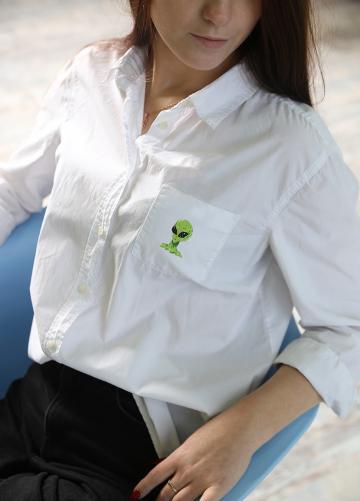 """Набор для вышивания """"PANNA"""" JK-2202 """"Инопланетянин"""" 3.5 x 5 см"""