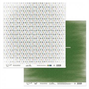 Бумага двусторонняя PSR 180406-3 30х30см (2 листа)