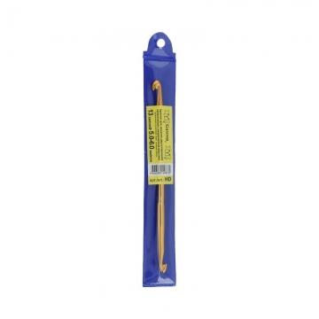 Крючок для вязания двусторонний металл HD 5.0-6.0