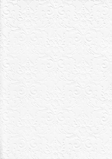 """Бумага с тиснением А4 """"Дамасский узор"""" белый (1лист)"""