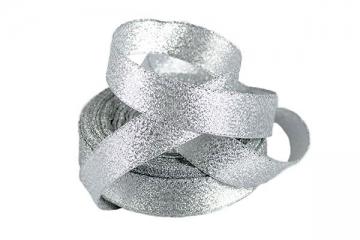 Лента металлизированная MR-10 10мм (5 метров) серебро