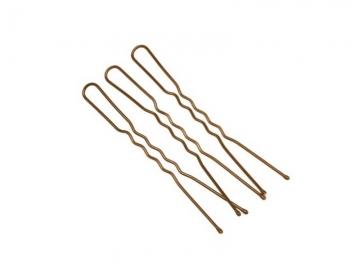 Шпильки металлические HIP-75 7.5см 10 шт. коричневые