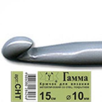 Крючок для вязания металл CHT 10.0