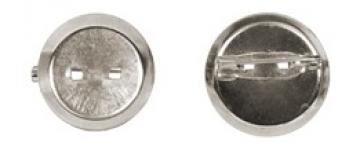 Заготовка для броши DC-200 диаметр 2 см (3 шт.) под никель