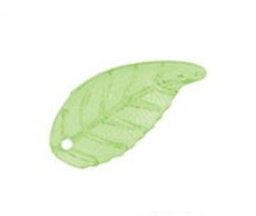 Декоративные листики DLF-01 22х10мм (10шт.) зеленые