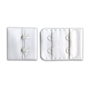 Застежка для бюстгалтеров ZB32-22 32мм белый (4шт.)