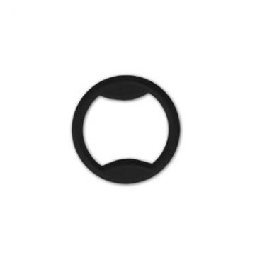 Кольцо пластик 10мм (10шт.) черное
