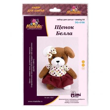 Набор для шитья игрушки DG-0198 Щенок Белла