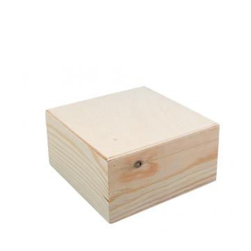 Шкатулка сосна ВД-366 16х16х8 см