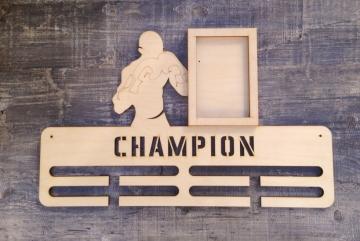 "Медальница спортивная ""Бокс champion"" 50см"