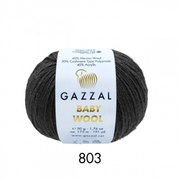 Пряжа Baby Wooll Gazzal 803 (Турция)