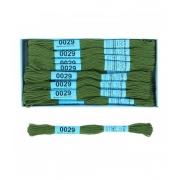 Мулине Gamma 0029 (8 метров) хаки-зелёный, 1 шт.