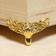 Ножка MMG-021 3.5х2см (4шт.) золото