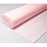Гофрированная бумага №569 0.5х2.5м Бело-розовая (Италия)