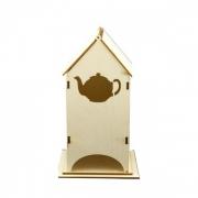 Чайный домик сборный с чайником 24х9х9см