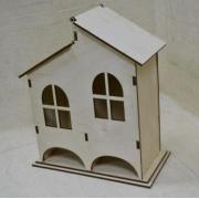 """Чайный домик """"Двойной домик"""" 9х18х25 см"""