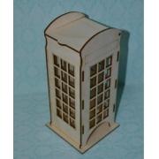 """Чайный домик """"Телефонная будка"""" 24х10х9 см"""