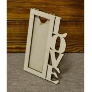 """Рамка для фото """"Love"""" (фото 5х15см)"""