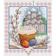 """Набор для вышивания """"Пасхальный звон"""" М-057 21х18см"""