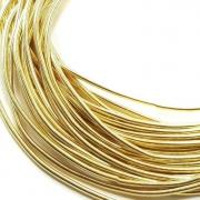 Канитель мягкая 1мм Dark golden (5грамм) 093